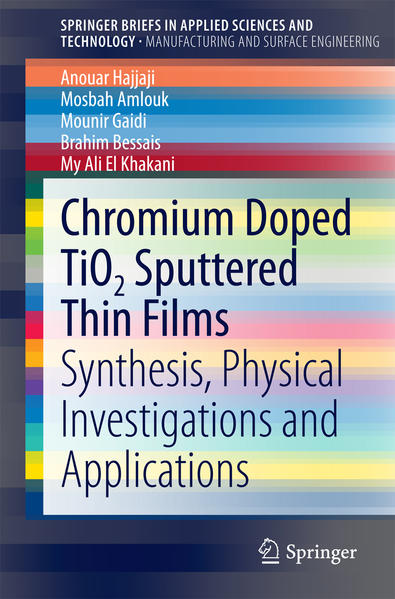 Chromium Doped TiO2 Sputtered Thin Films - Coverbild