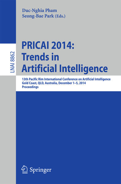 PRICAI 2014: Trends in Artificial Intelligence - Coverbild