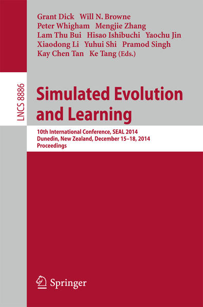 Simulated Evolution and Learning - Coverbild