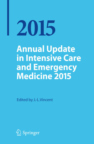 Annual Update in Intensive Care and Emergency Medicine 2015 - Coverbild