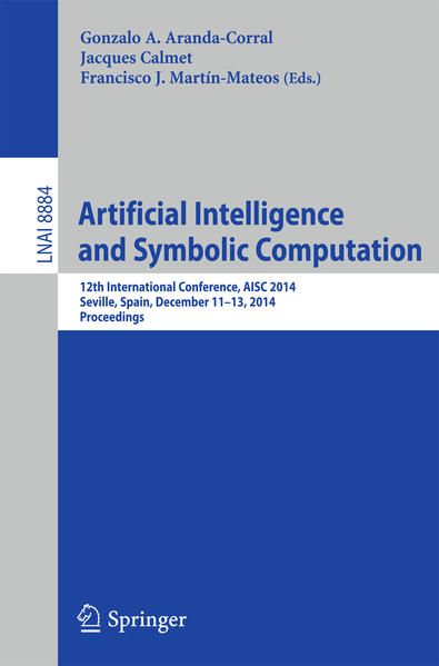 Artificial Intelligence and Symbolic Computation - Coverbild