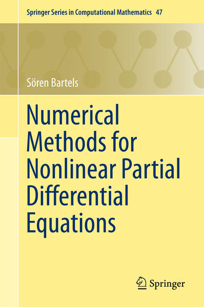 Numerical Methods for Nonlinear Partial Differential Equations - Coverbild