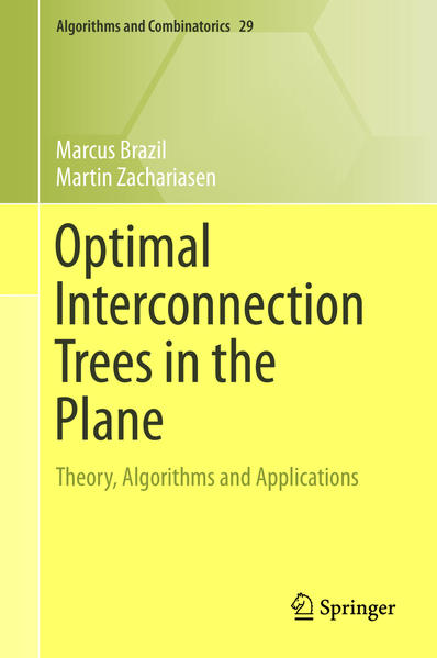 Optimal Interconnection Trees in the Plane - Coverbild