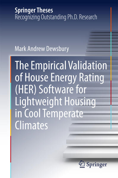 The Empirical Validation of House Energy Rating (HER) Software for Lightweight Housing in Cool Temperate Climates - Coverbild