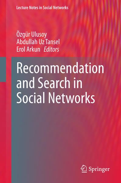 Recommendation and Search in Social Networks - Coverbild