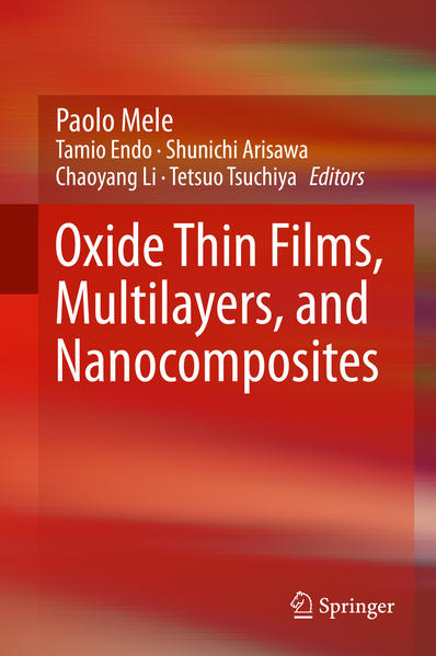 Oxide Thin Films, Multilayers, and Nanocomposites - Coverbild