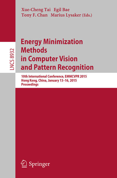 Energy Minimization Methods in Computer Vision and Pattern Recognition - Coverbild