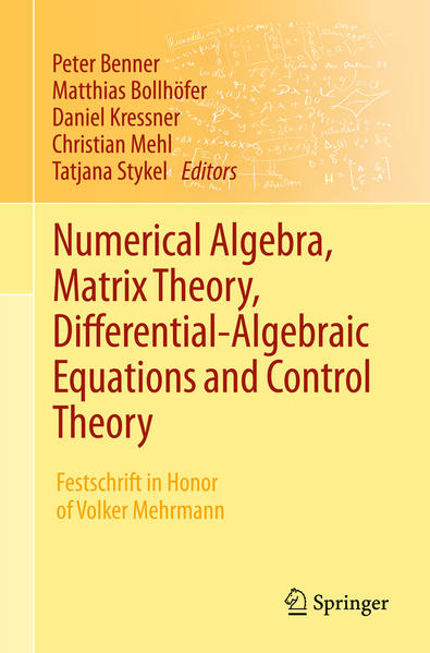 Numerical Algebra, Matrix Theory, Differential-Algebraic Equations and Control Theory - Coverbild