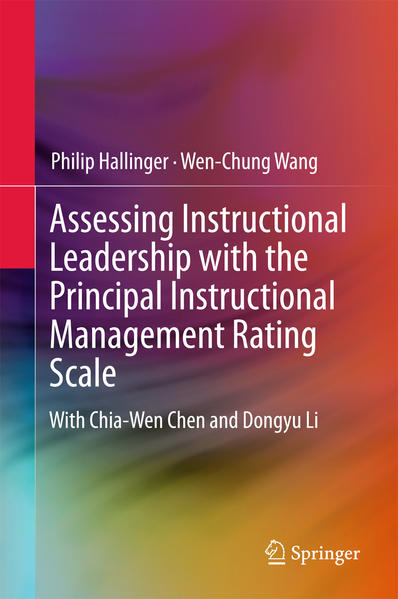 Assessing Instructional Leadership with the Principal Instructional Management Rating Scale - Coverbild