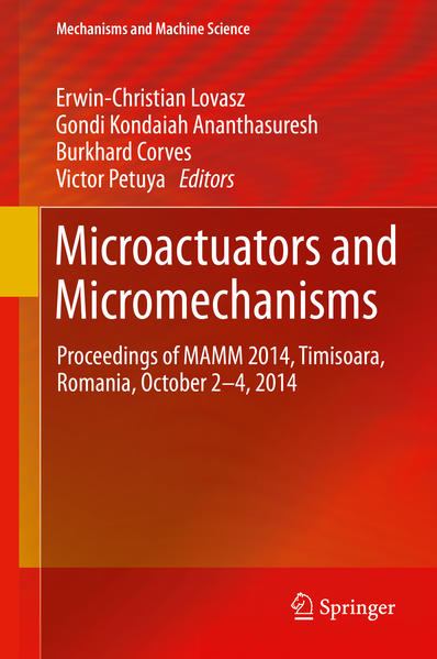 Microactuators and Micromechanisms - Coverbild
