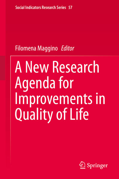 A New Research Agenda for Improvements in Quality of Life - Coverbild