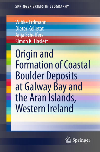 Origin and Formation of Coastal Boulder Deposits at Galway Bay and the Aran Islands, Western Ireland - Coverbild