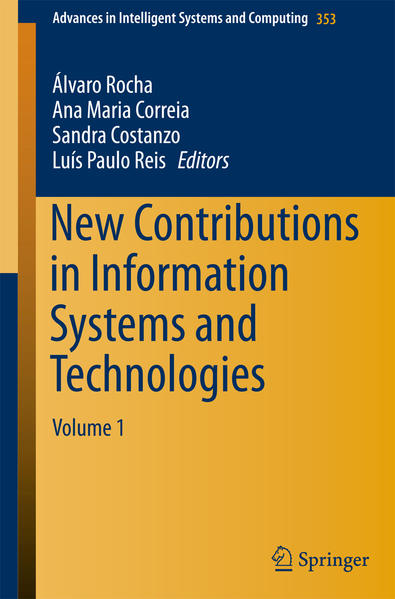 New Contributions in Information Systems and Technologies - Coverbild