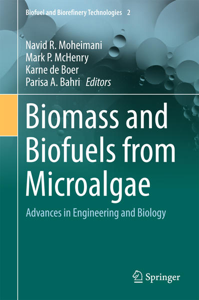 Biomass and Biofuels from Microalgae - Coverbild