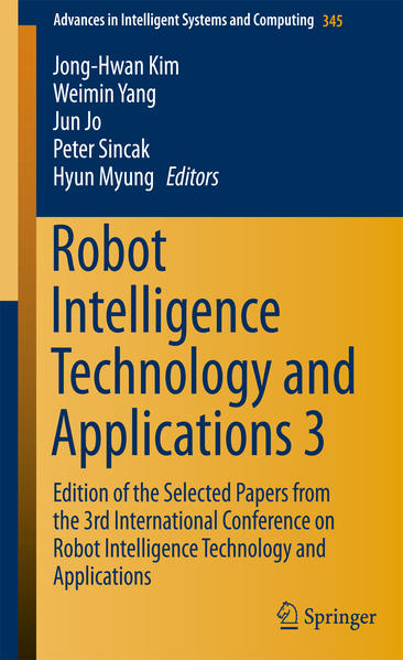 Robot Intelligence Technology and Applications 3 - Coverbild