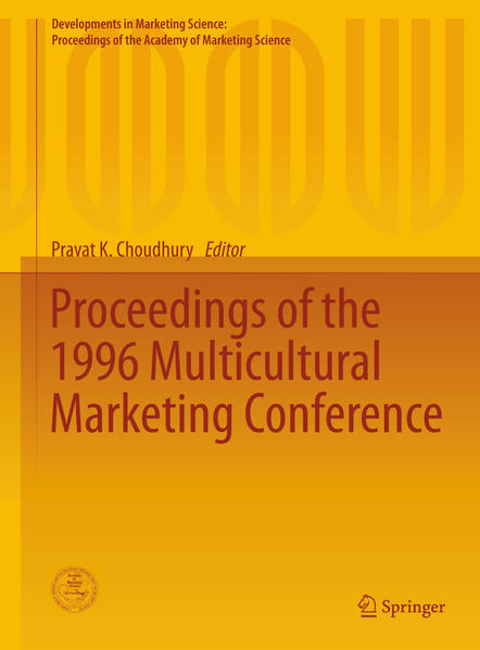 Proceedings of the 1996 Multicultural Marketing Conference - Coverbild