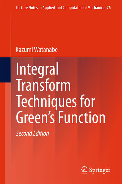 Integral Transform Techniques for Green's Function - Coverbild