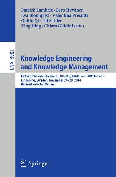 Knowledge Engineering and Knowledge Management - Coverbild