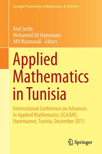 Applied Mathematics in Tunisia - Coverbild