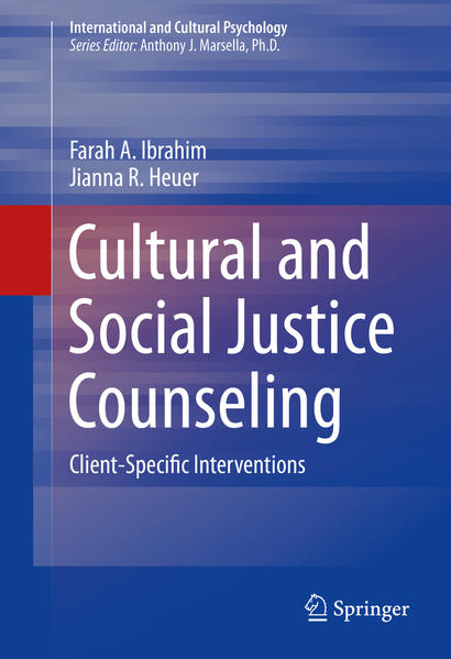 Cultural and Social Justice Counseling - Coverbild