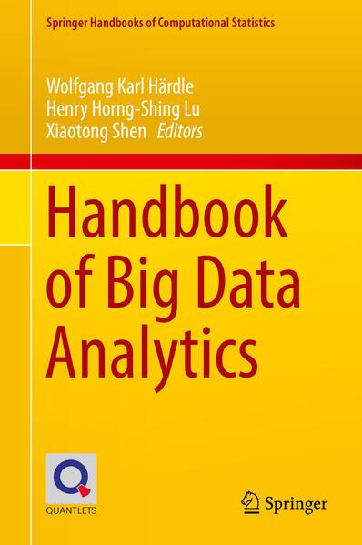 Handbook of Big Data Analytics - Coverbild