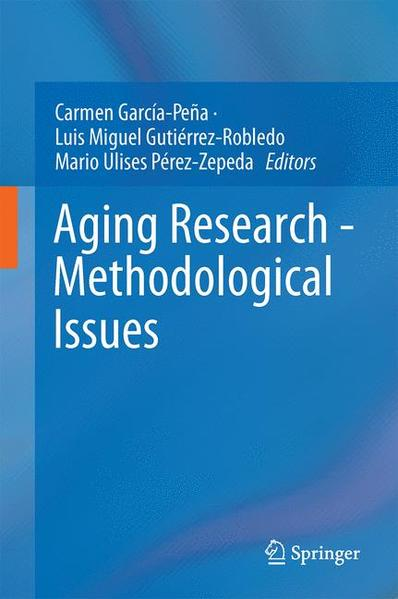 Aging Research - Methodological Issues - Coverbild
