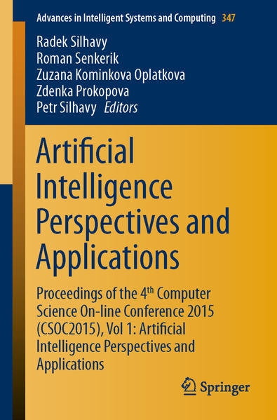 Artificial Intelligence Perspectives and Applications - Coverbild