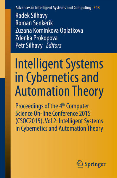 Intelligent Systems in Cybernetics and Automation Theory - Coverbild