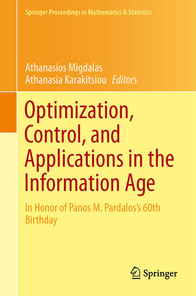 Optimization, Control, and Applications in the Information Age - Coverbild