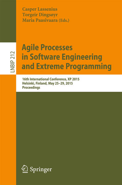 Agile Processes in Software Engineering and Extreme Programming - Coverbild