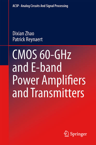 CMOS 60-GHz and E-band Power Amplifiers and Transmitters - Coverbild
