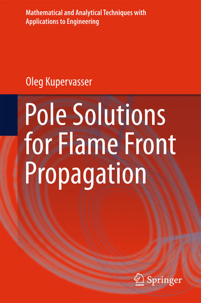 Pole Solutions for Flame Front Propagation - Coverbild