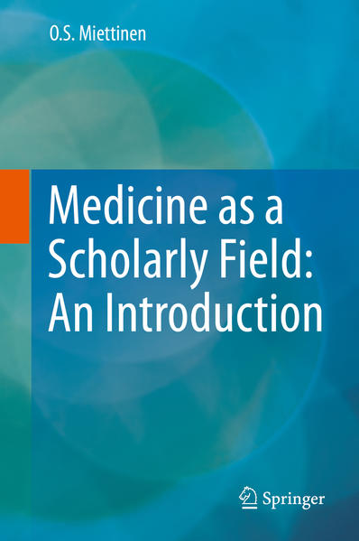 Medicine as a Scholarly Field: An Introduction - Coverbild