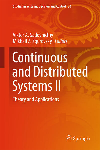 Continuous and Distributed Systems II - Coverbild
