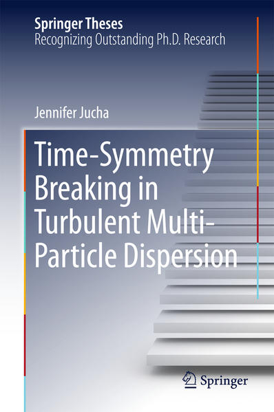 Time-Symmetry Breaking in Turbulent Multi-Particle Dispersion - Coverbild