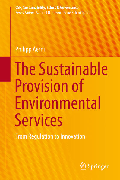 The Sustainable Provision of Environmental Services - Coverbild