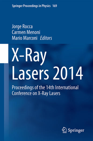 X-Ray Lasers 2014 - Coverbild