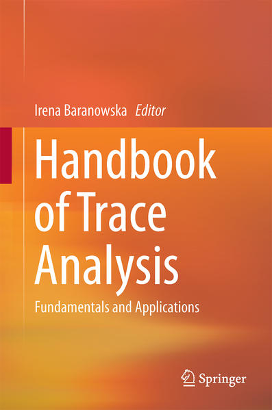 Handbook of Trace Analysis - Coverbild