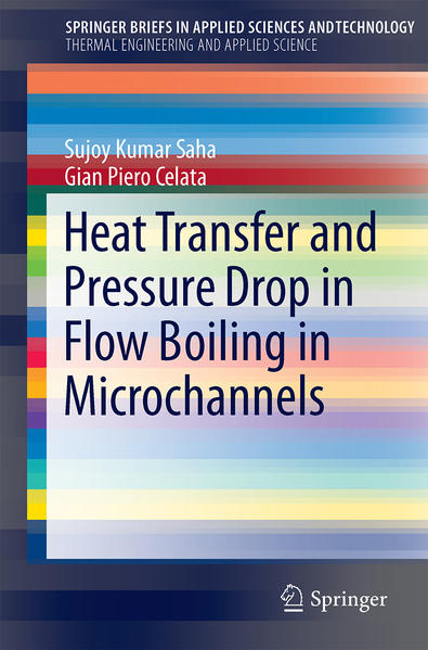 Heat Transfer and Pressure Drop in Flow Boiling in Microchannels - Coverbild