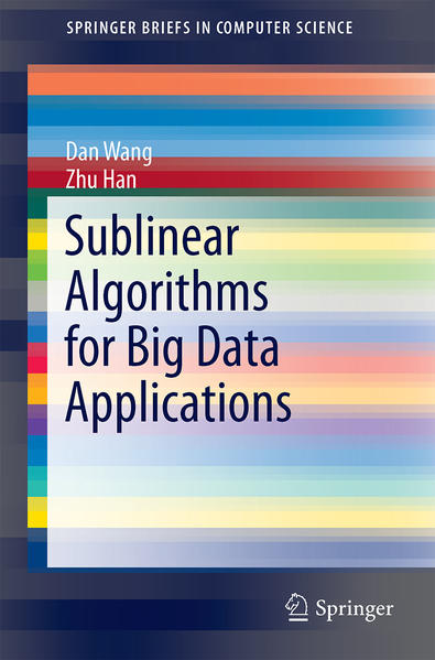 Sublinear Algorithms for Big Data Applications - Coverbild