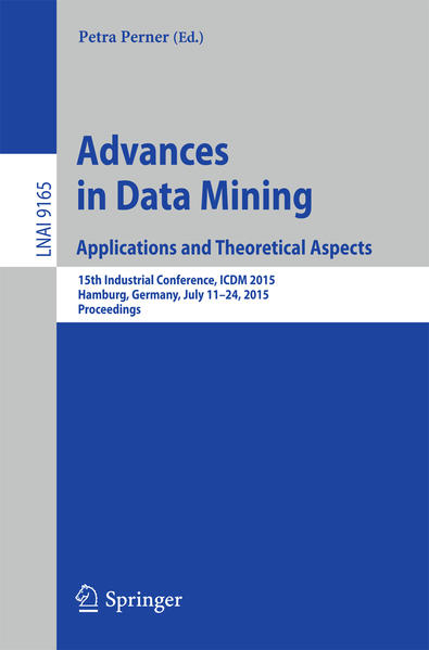 Advances in Data Mining: Applications and Theoretical Aspects - Coverbild