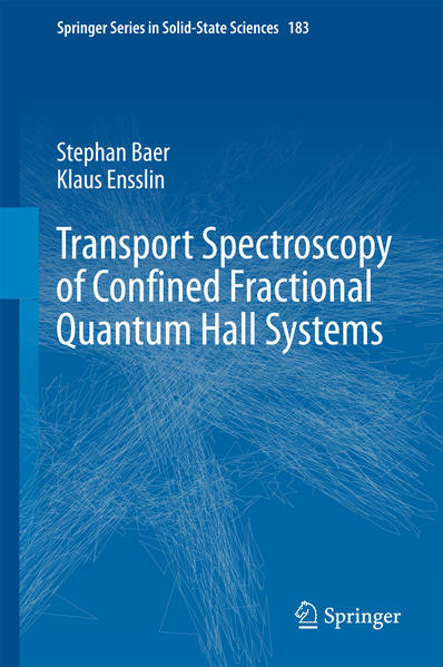 Transport Spectroscopy of Confined Fractional Quantum Hall Systems - Coverbild