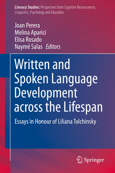 Written and Spoken Language Development across the Lifespan - Coverbild