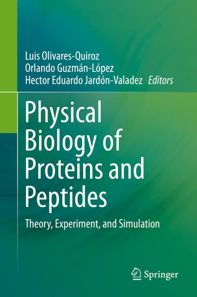 Physical Biology of Proteins and Peptides - Coverbild