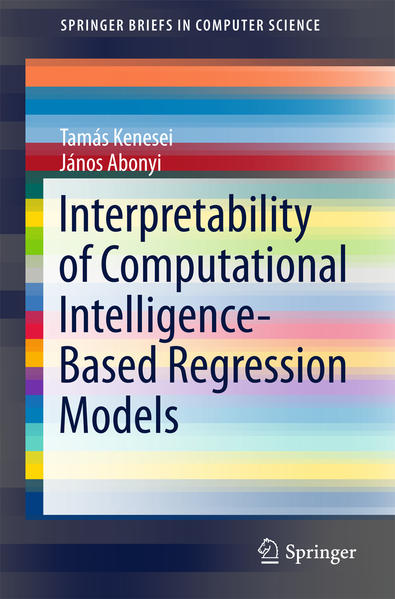 Interpretability of Computational Intelligence-Based Regression Models - Coverbild