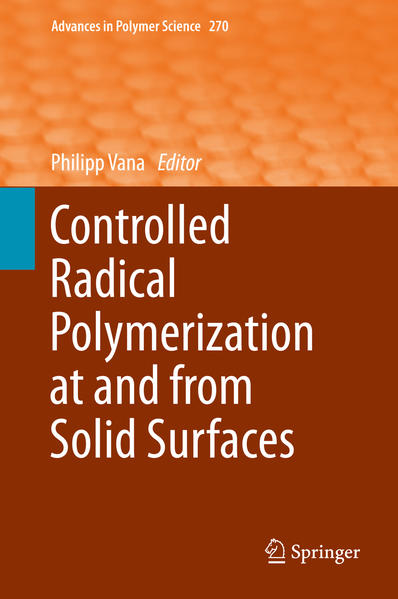Controlled Radical Polymerization at and from Solid Surfaces - Coverbild