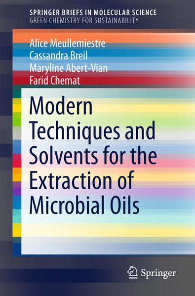Modern Techniques and Solvents for the Extraction of Microbial Oils - Coverbild