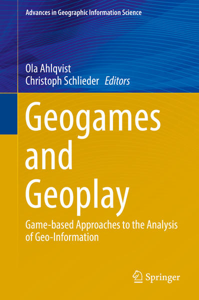 Geogames and Geoplay - Coverbild
