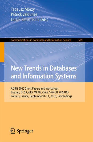 New Trends in Databases and Information Systems - Coverbild