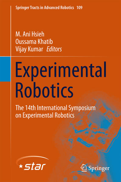 Experimental Robotics - Coverbild